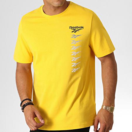 Reebok Tee Shirt Classic Vector EB3609 Jaune