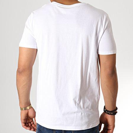 Superman - Tee Shirt Superman Japan Blanc Argenté