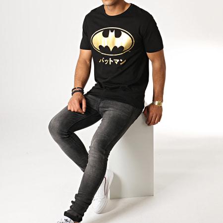 Batman - Tee Shirt Batman Japan Noir Or