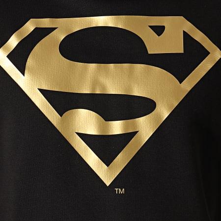 Superman - Sweat Capuche Superman Japan Noir Doré