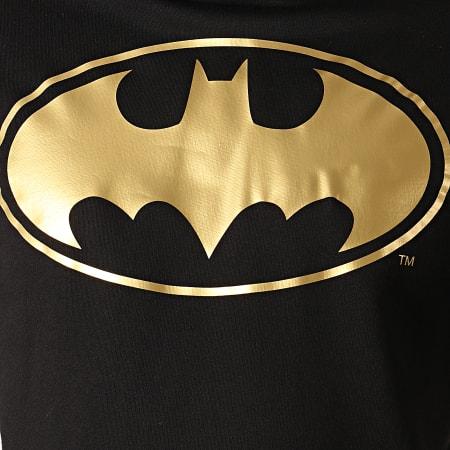 Batman - Sweat Capuche Batman Japan Noir Doré