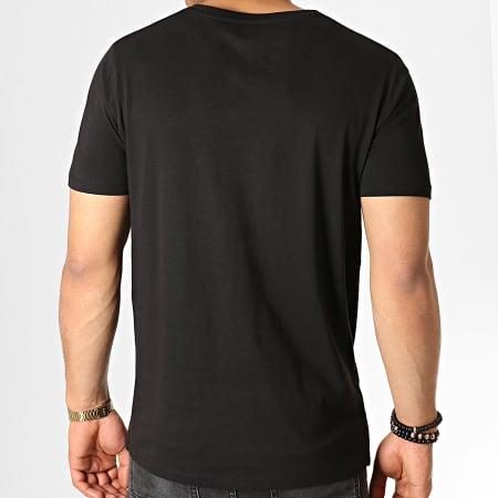 Parental Advisory - Tee Shirt Glow In The Dark Noir
