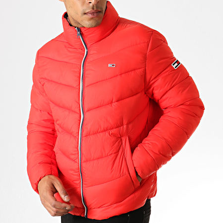 Tommy Hilfiger Jeans - Doudoune Essential Puffer 6485 Rouge
