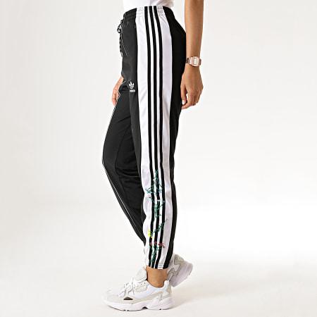 adidas Pantalon Jogging Femme Avec Bandes ED4778 Noir