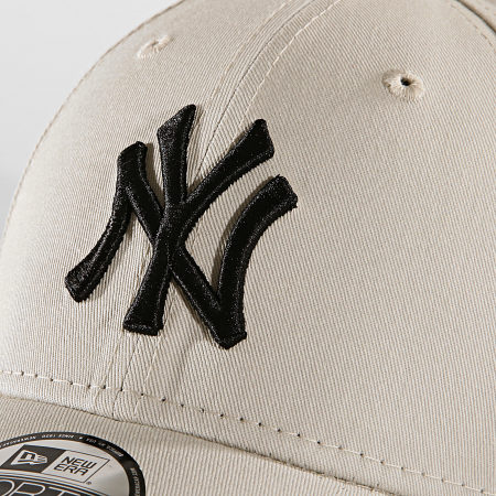 New Era - Casquette Baseball 9Forty League Essential 94 New York Yankees 12062847 Beige Noir