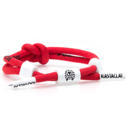 Rastaclat - Bracelet Positive Vibes Knot Rouge