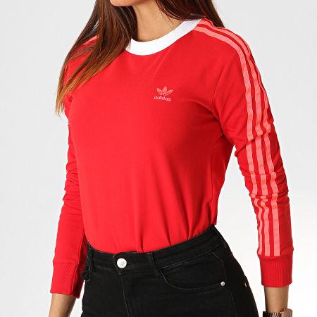 t-shirt manche longue adidas femme