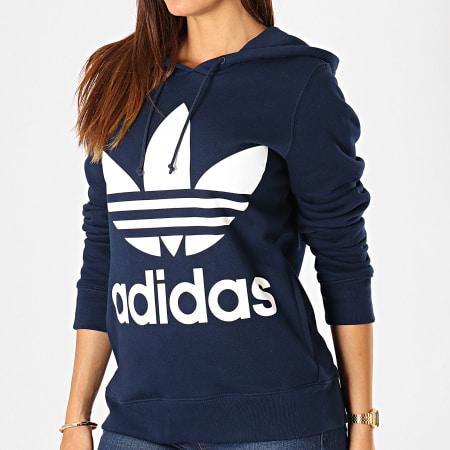 sweat femme adidas bleu