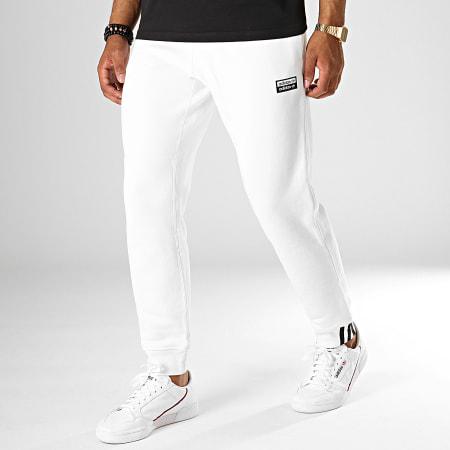 jogging blanc adidas