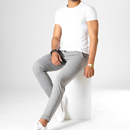 Only And Sons - Pantalon Chino Mark Gris Chiné