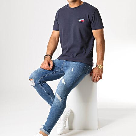 Tommy Hilfiger Jeans - Tee Shirt Badge 6595 Bleu Marine