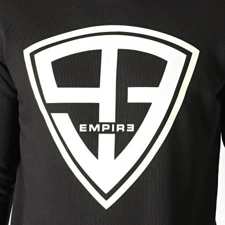 93 Empire - Sweat Crewneck Glow In The Dark Noir