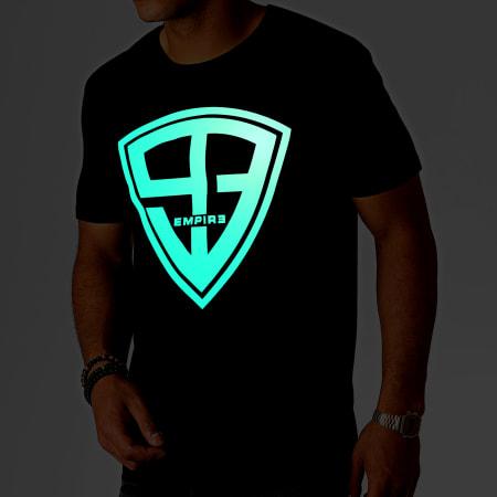 93 Empire - Tee Shirt Glow In The Dark Noir