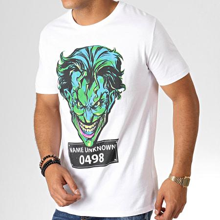 Batman - Tee Shirt Mug Shot Blanc