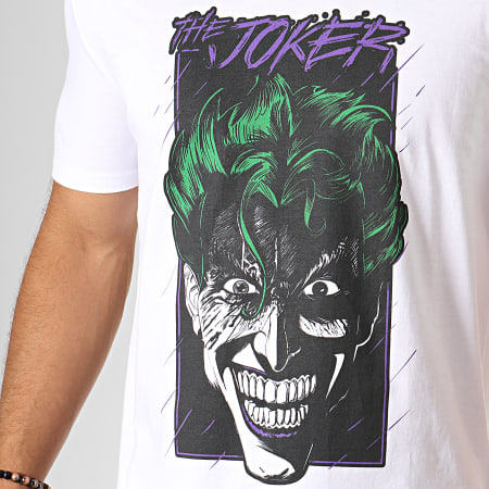 Batman - Tee Shirt Portrait Blanc