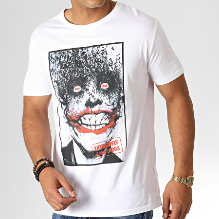 Batman - Tee Shirt Dangerous Blanc