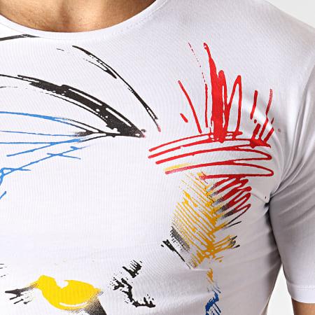Ikao - Tee Shirt Oversize F552 Blanc