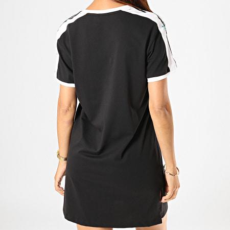 adidas - Robe Femme Floral ED4776 Noir Blanc