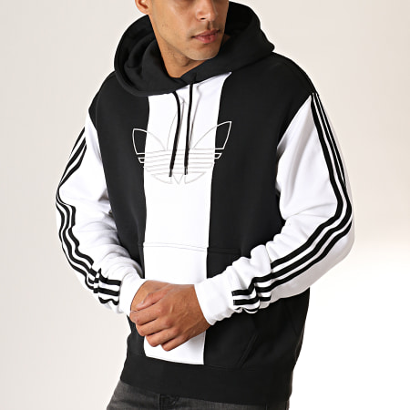 adidas Sweat Capuche A Bandes Off Court Trefoil ED6247