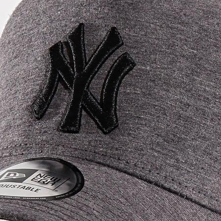 New Era - Casquette Trucker Jersey 9 New York Yankees 12135433 Gris Chiné Blanc Noir