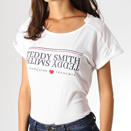 t-shirt femme teddy smith