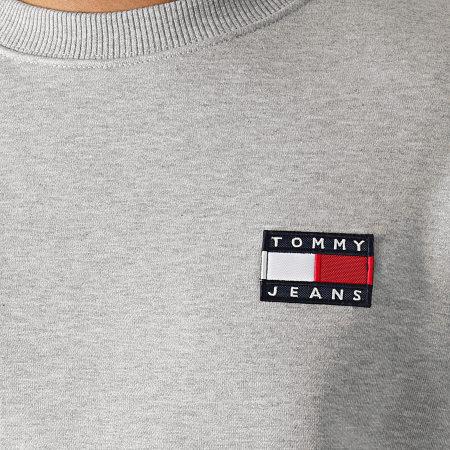 Tommy Hilfiger Jeans - Sweat Crewneck Badge 6592 Gris Chiné