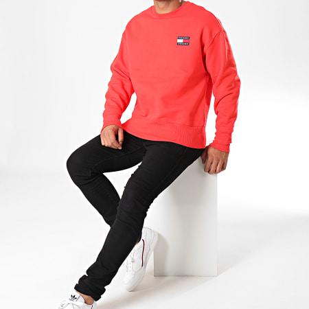 Tommy Hilfiger Jeans - Sweat Crewneck Badge 6592 Rouge
