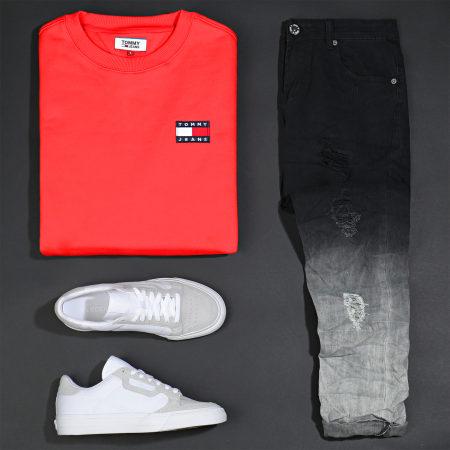 Tommy Jeans - Sweat Crewneck Badge 6592 Rouge