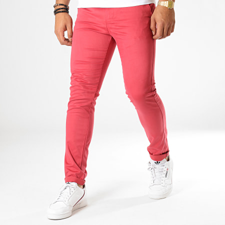 Classic Series - Pantalon Chino M-3179 Rouge Brique