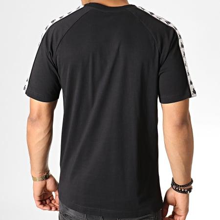 Kappa - Tee Shirt A Bandes Coen 3600440 Noir Blanc