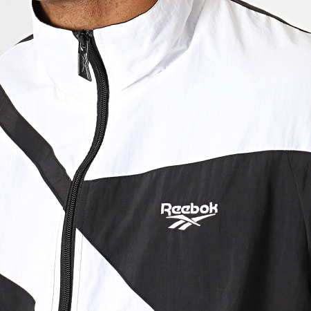 Reebok - Veste Zippée Classic Vector EC4601 Noir Blanc