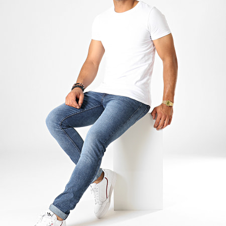 Tom Tailor - Jean Skinny 4445 Bleu Denim