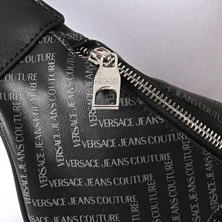 Versace Jeans Couture - Sac Banane Linea Chevron B7GUA7FY Noir