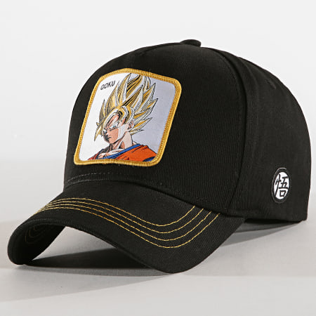 Dragon Ball Z - Casquette Goku Noir