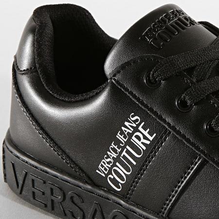 Versace Jeans Couture - Baskets Linea Fondo Cassetta E0YUBSF6 Noir