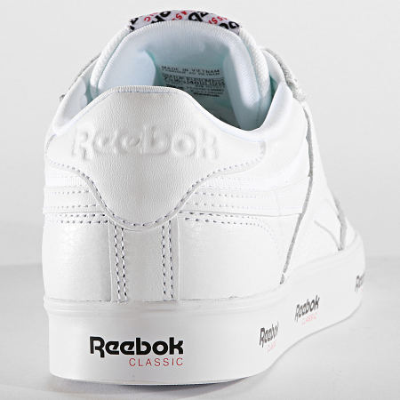 Reebok - Baskets Club C Revenge Mu DV7021 White Black Primal Red