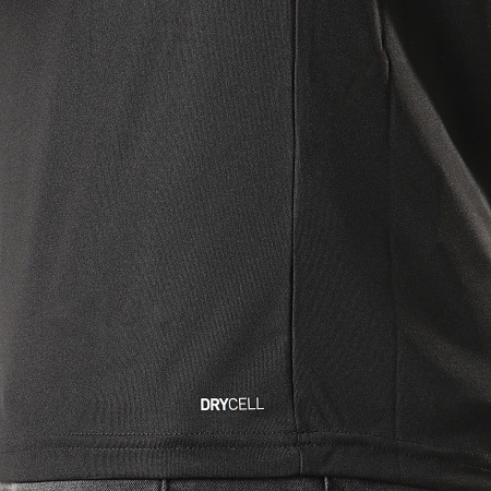 Puma - Tee Shirt De Sport OM Training Jersey 755828 Noir Orange
