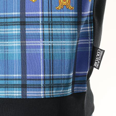 Versace Jeans Couture - Sweat Crewneck Renaissance Print 4 B7GUA7FX Noir Jaune Bleu
