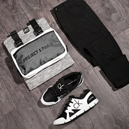 LBO - Jean Skinny Avec Déchirures LB054-6 Noir