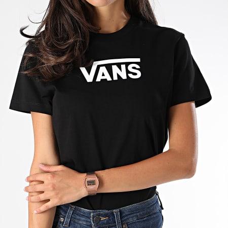 Vans Tee Shirt Femme Flying V Classic A47WHBLK Noir