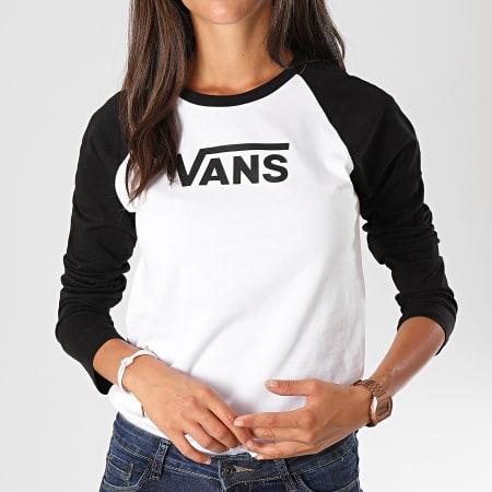 Vans Tee Shirt Manches Longues Femme Flying V Raglan