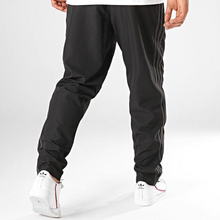 adidas - Pantalon Jogging A Bandes Manchester United DX9048 Noir