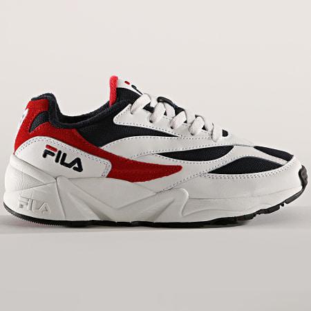 Fila - Baskets Femme V94M Low 1010291 01M White Fila Navy Red