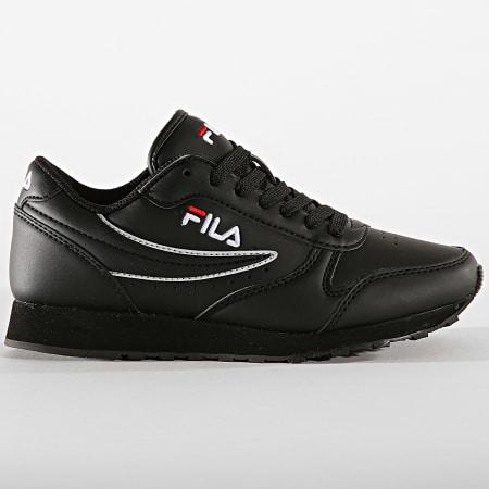 Fila - Baskets Femme Orbit Low 1010308 12V Black