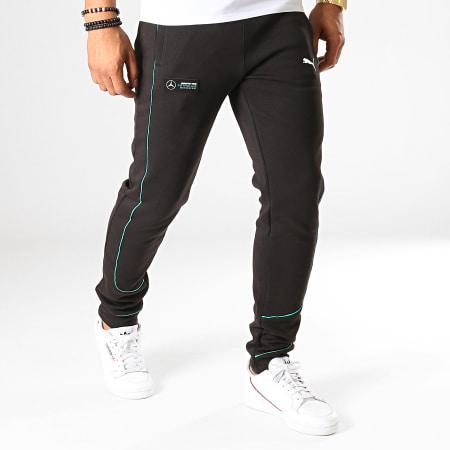 Puma - Pantalon Jogging Mercedes AMG Petronas Sweat 595353 Noir