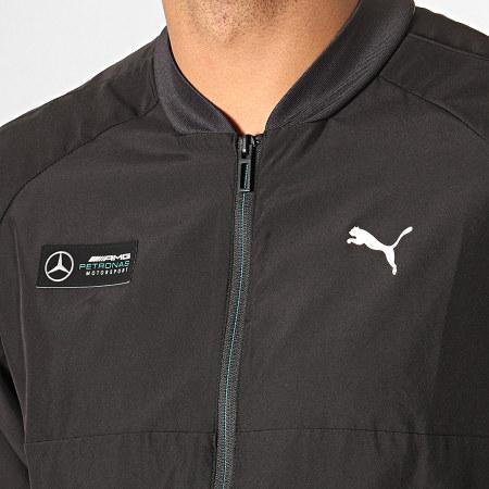 Puma - Veste Zippée Mercedes AMG Petronas Motorsport Woven 596487 Noir