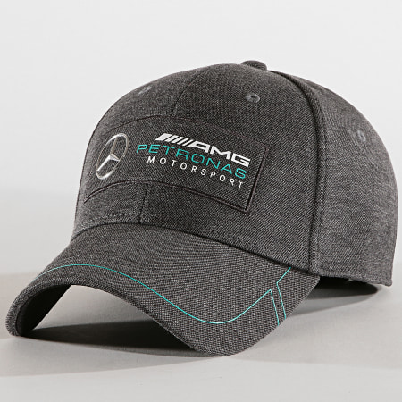 Puma - Casquette Mercedes AMG Petronas Motorsport 022393 Gris Anthracite Chiné