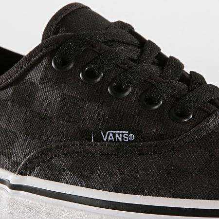 Vans - Baskets Authentic A3MU8V7X Checkerboard Black