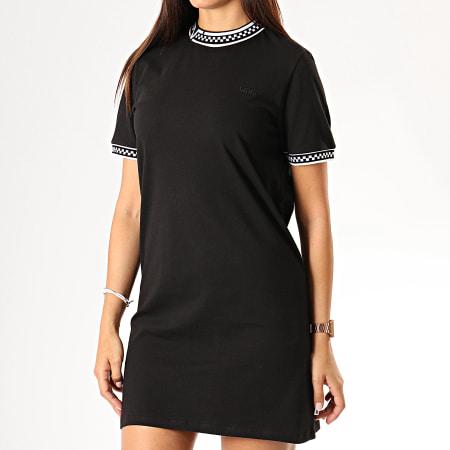 Vans Robe Tee Shirt Femme High Roller V A47UTBLK Noir