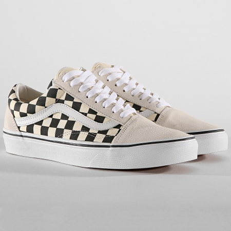 Vans - Baskets Old Skool A38G127K Checkerboard White Black
